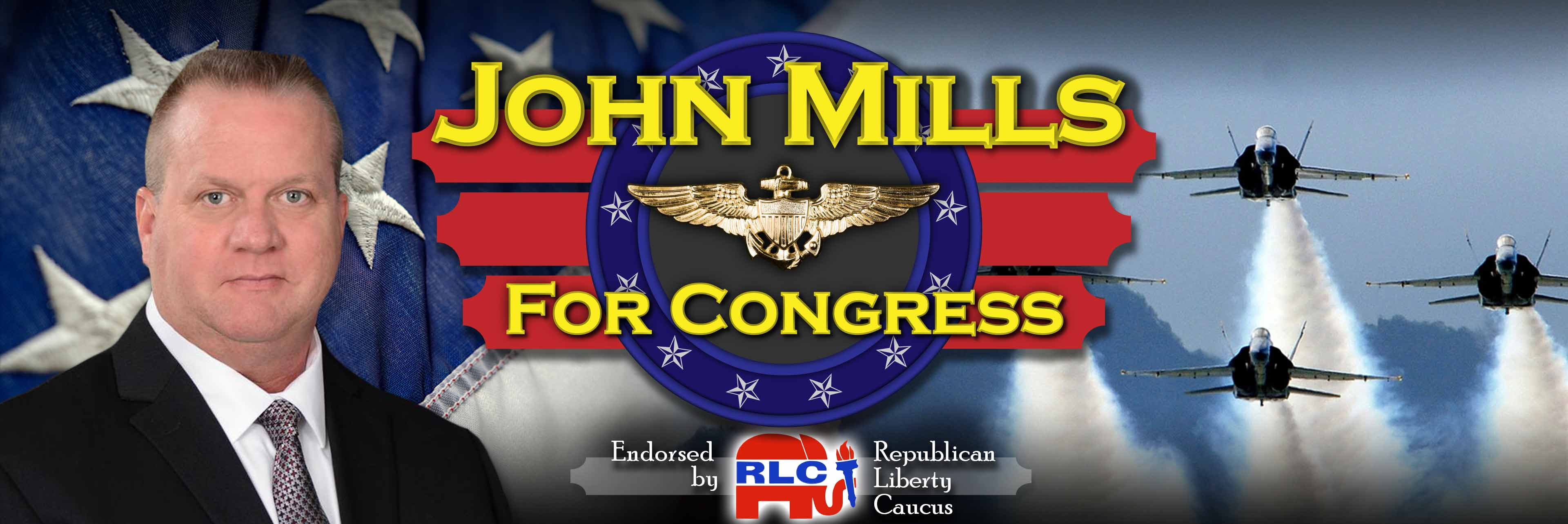 John Mills For Congress